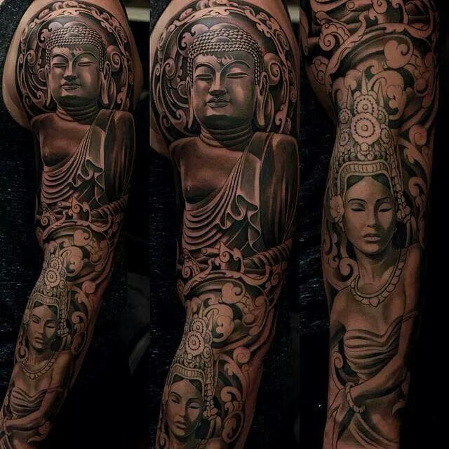 Buddha tattoo | Ink | Pinterest | Buddha tattoos, Buddha ...