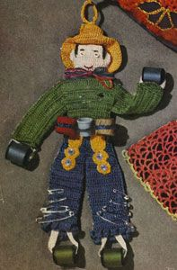 Johnny on the Spot, free vintage crochet pattern