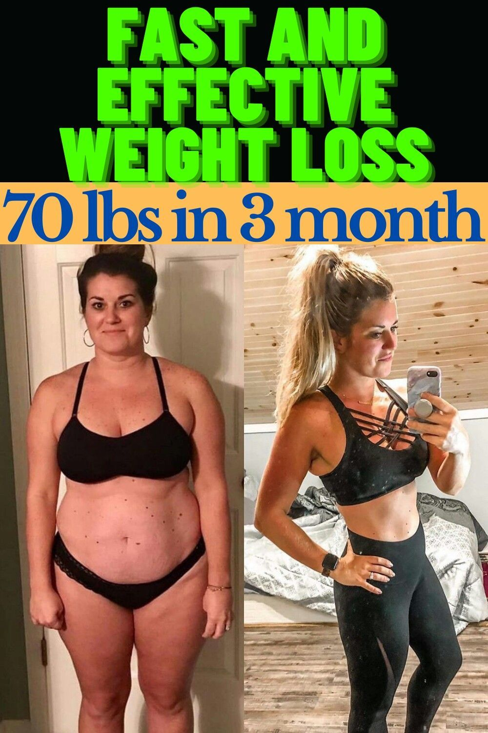 How To Lose Weight Without Exercise Fast. Fast And Effective Weight Loss 70 Lbs In 3 Months