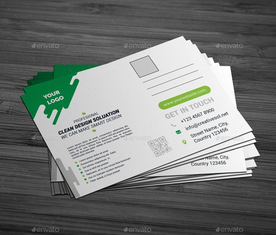Post Card Design Postcard Design Card Design Postcard