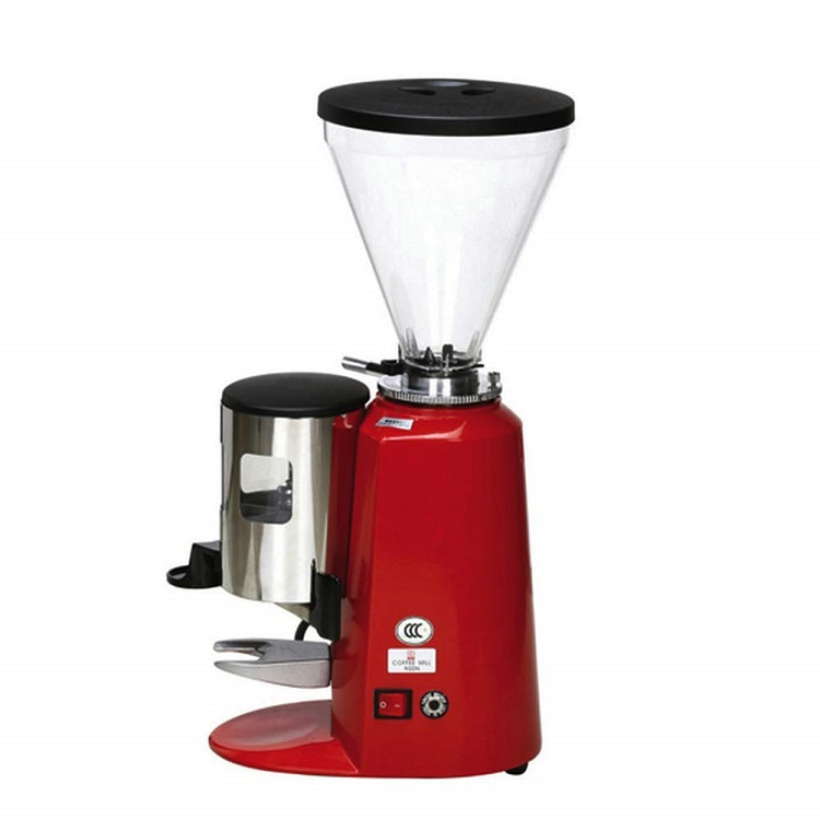 Commercial Coffee Grinder, SemiAutomatic Burr Coffee Mill