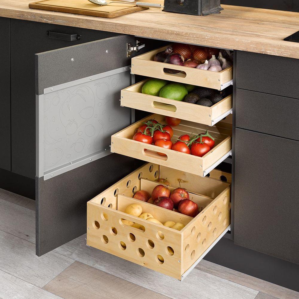 Rangement cuisine : les 40 meubles de cuisine pleins d'astuces | Rangement cuisine, Placard ...