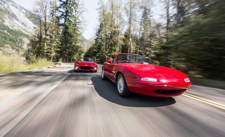 2016 Mazda MX5 Miata and 1990 Mazda MX5 Miata Pictures