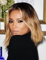 Billedresultat for medium length bob dark ombre hair celebrities
