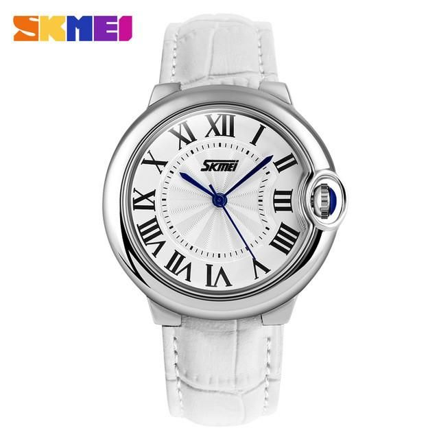 New Brand Casual Women Wristwatches Leather Strap Analog Quartz Clock Women Watches Fashion Dress Watch