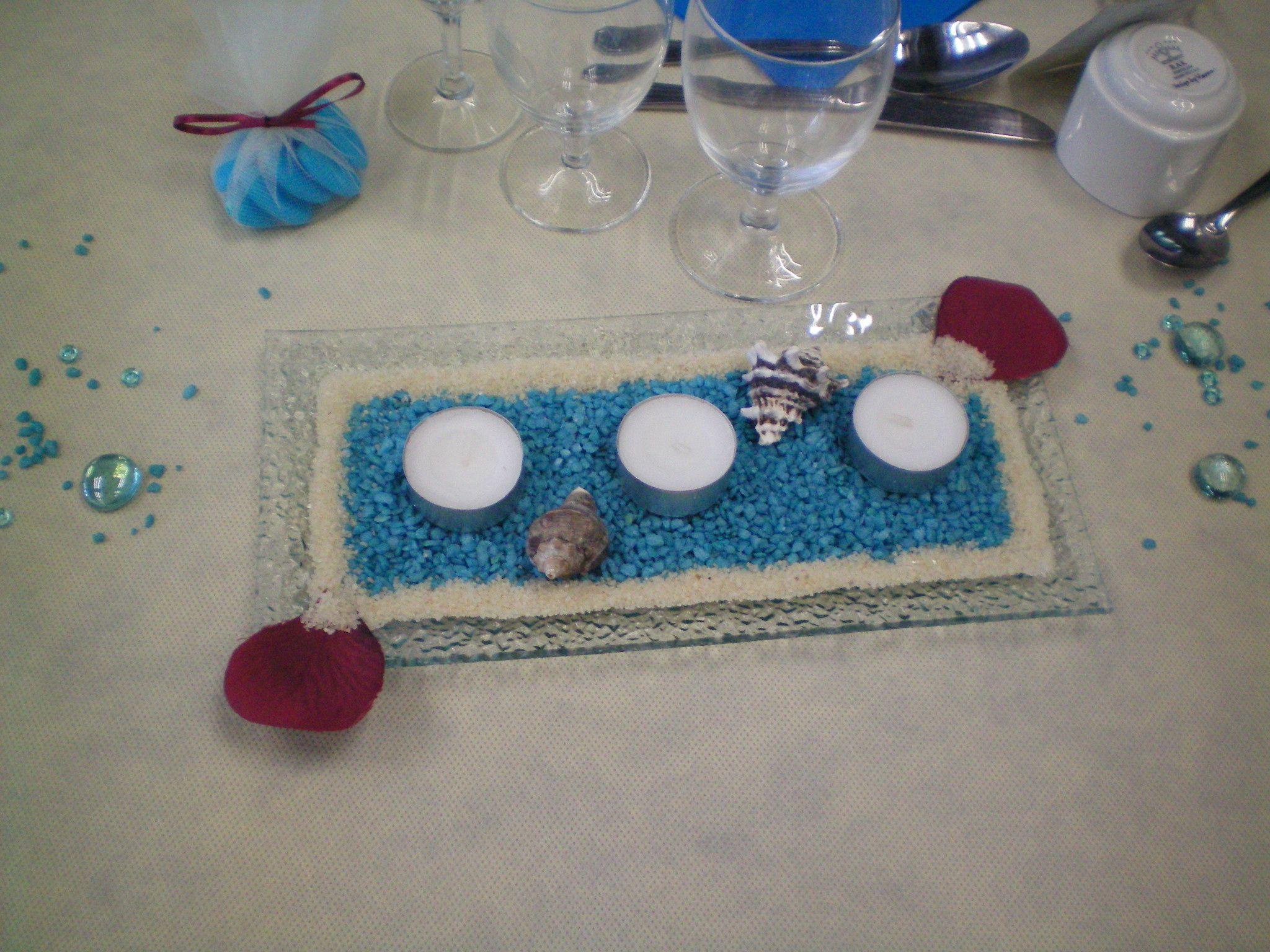 centre de table 2 me mod le mariage th me mer et poissons d coration de mariage pinterest. Black Bedroom Furniture Sets. Home Design Ideas