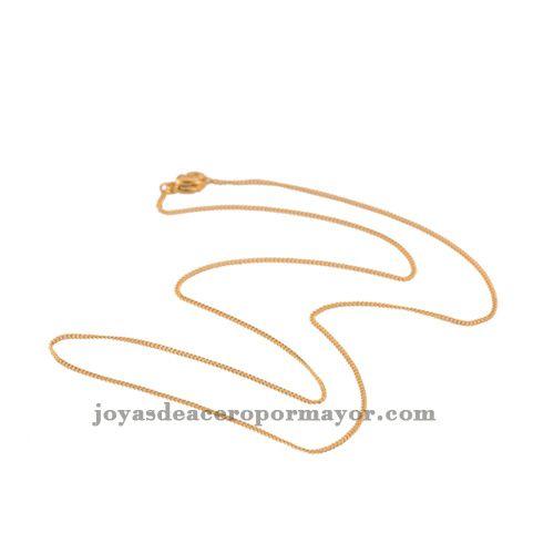 98471ec451e3 45.5cm cadenas de oro de venta de joyeria de oro por catalogo modelos  varios al por mayor