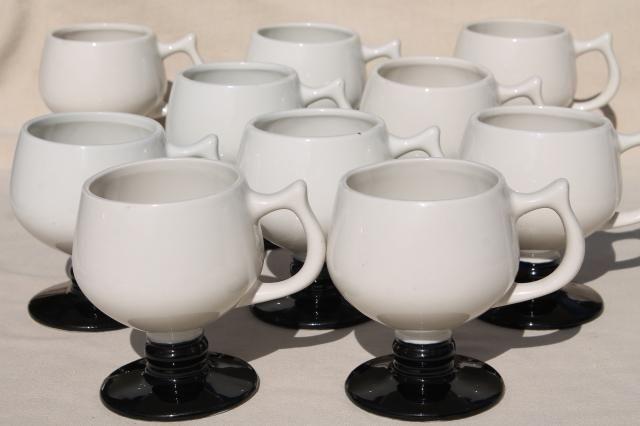 Set Of 10 Coffee Mugs Eva Zeisel Mid Century Modern Design