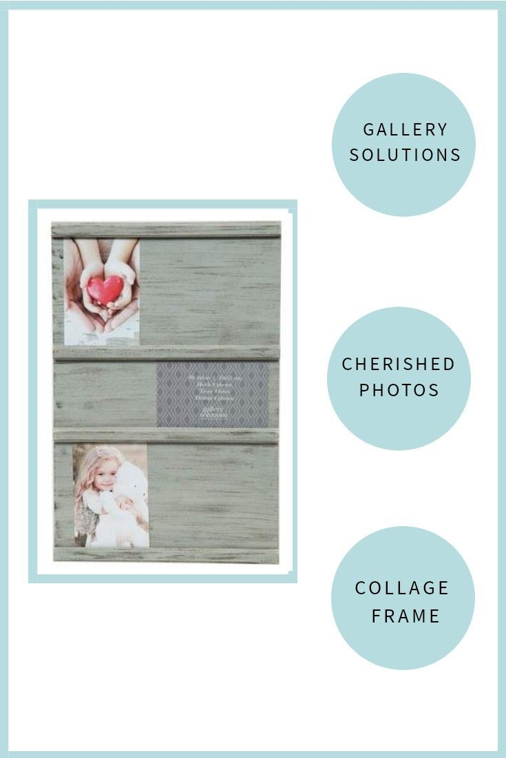 Gallery Solutions Multiple Image 12X18 Grey Sliding Photo Collage ...