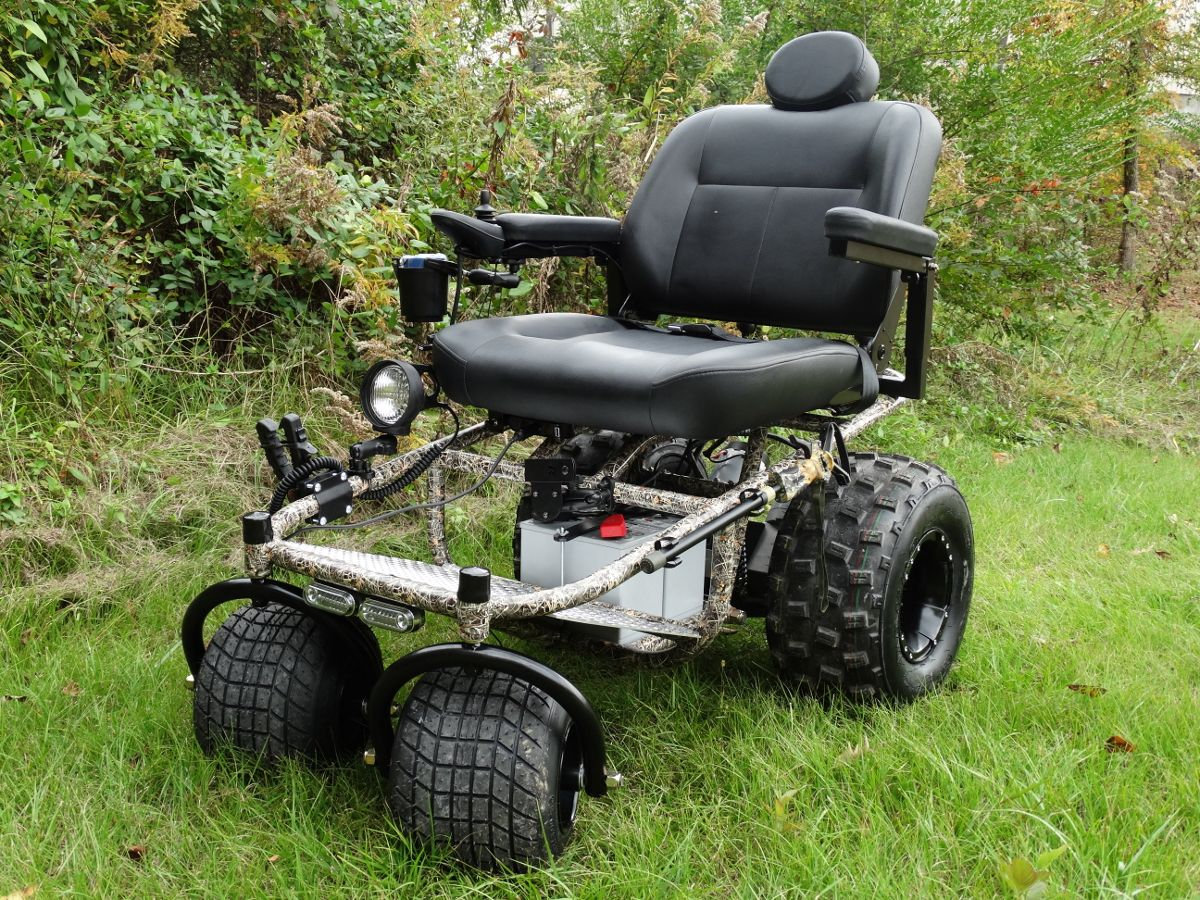 OffRoad Chair Nomad Features & Benefits Supports up to