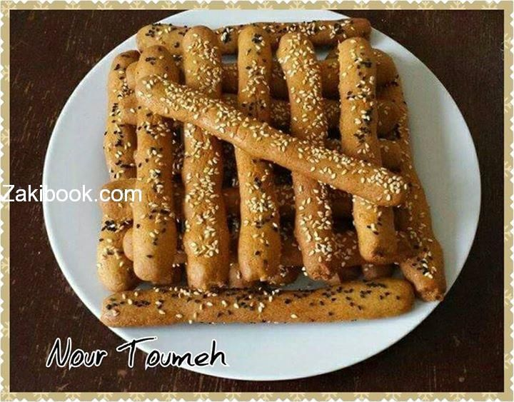 الكعك السوري المقرمش Arabic Food Arabic Dessert Middle Eastern Desserts