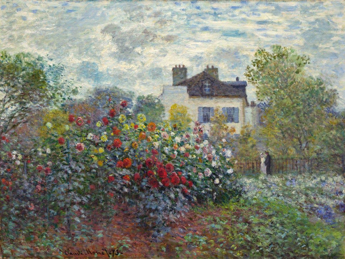 pinturas de claude monet el jardin encantado buscar con google