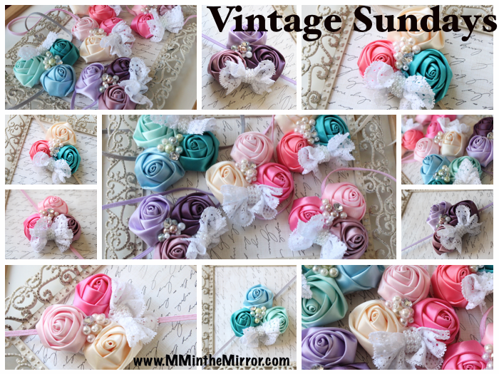 """Perfect for all you dressy spring occasions...think Easter! """"Vintage Sundays"""" come in any color combination needed!"""