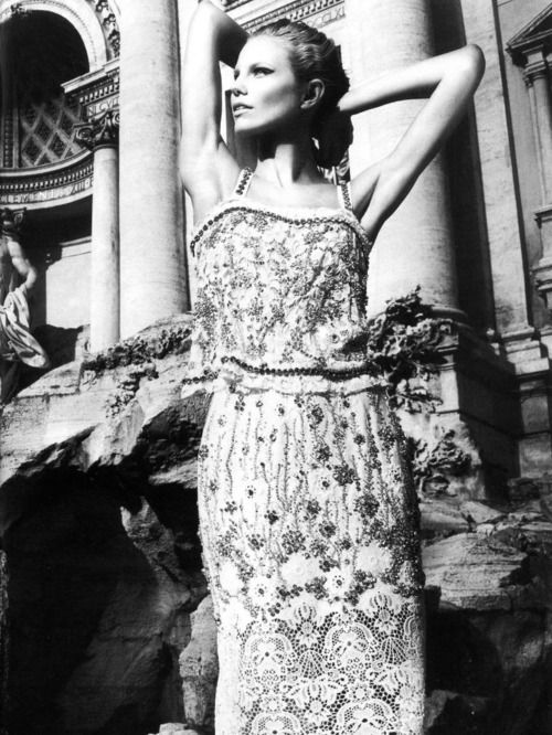 Ragnhild Jevne, wearing Dolce & Gabbana Spring 2011, by Nikolay Biryukov for Elle Ukraine April 2011