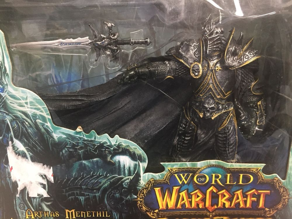Arthas Menethil The Lich King World Of Warcraft Wow Deluxe