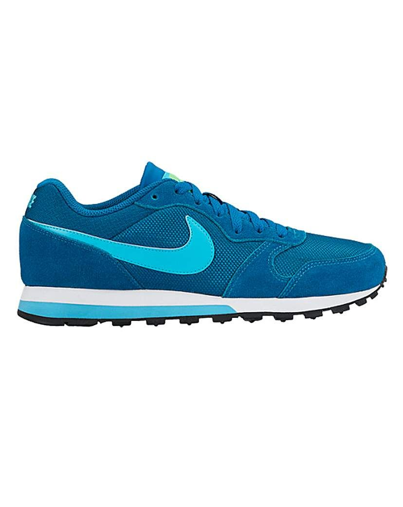 Nike MD Runner 2 Trainers Based on a running shoe champ from the 90s, the  womens Nike MD Runner 2 shoe keeps all the original details, mixing a super  ...