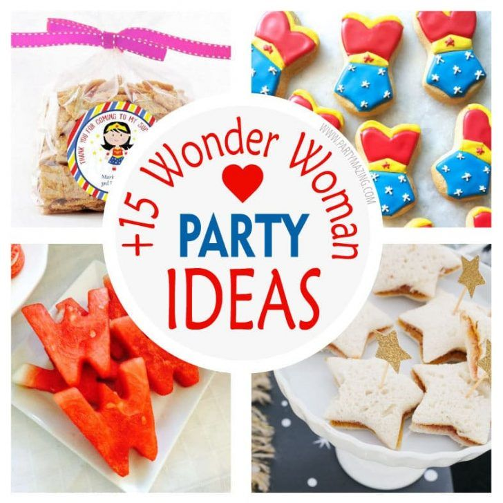 Photo of 15 Amazing Wonder Woman Party Ideas – Partymazing