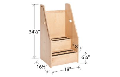 Step Up For Little One Add Storage Under Top Make Sides And Front