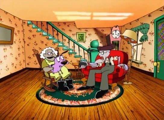 Pin On Courage The Cowardly Dog