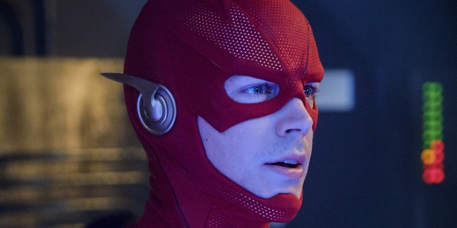 The Flash Season Premiere Photos Reveal The Scarlet Speedster S New Suit And The Monitor S Return The Flash Season The Flash The Flash Season 1