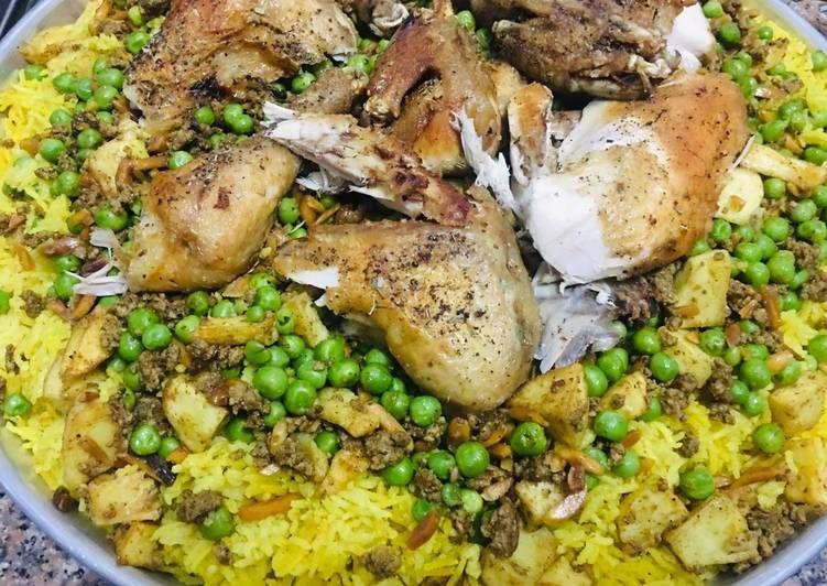 طريقة عمل رز أوزي بالدجاج Food Chicken Meat