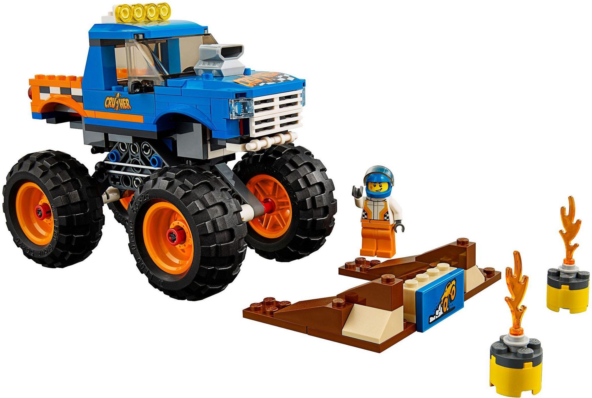 Lego City Monster Truck 60180 Monster Trucks Lego City Trucks