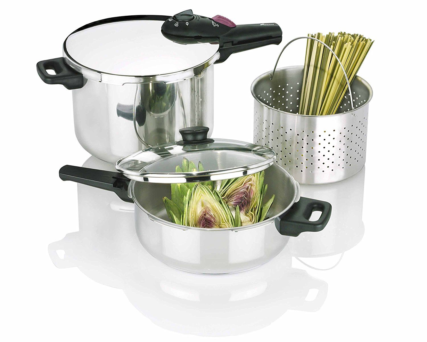 Fagor by splendid piece pressure cooker set for more
