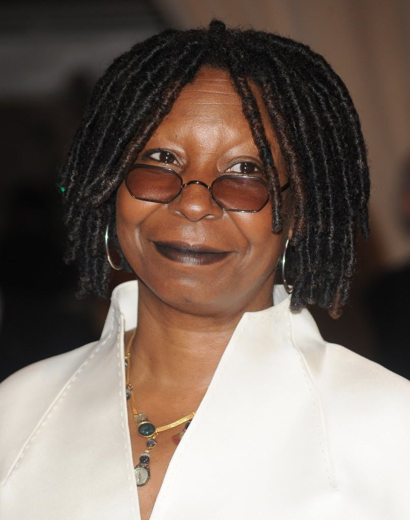 whoopie goldberg has that signature hairbut what happened to