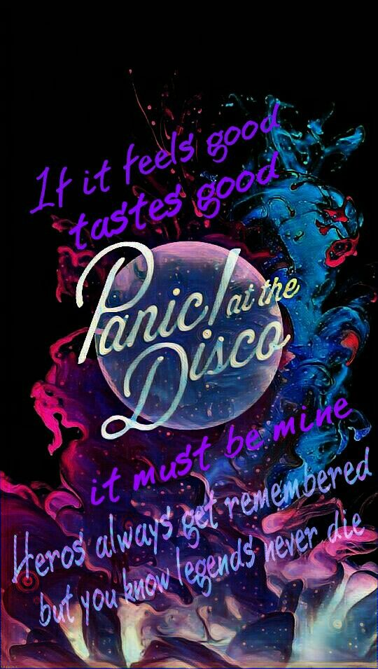 Fall Out Boy Iphone Wallpaper Lyrics Panic At The Disco Emperors New Clothes Bands And