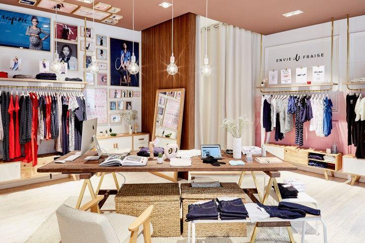 Envie de Fraise boutique by Generous, Paris – France » Retail Design Blog
