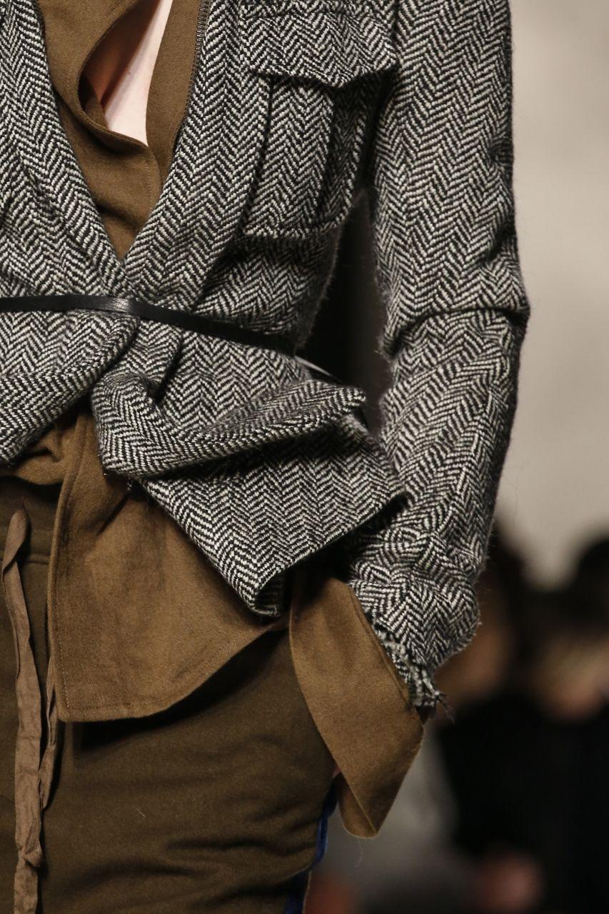 herringbone Haider Ackermann Fashion