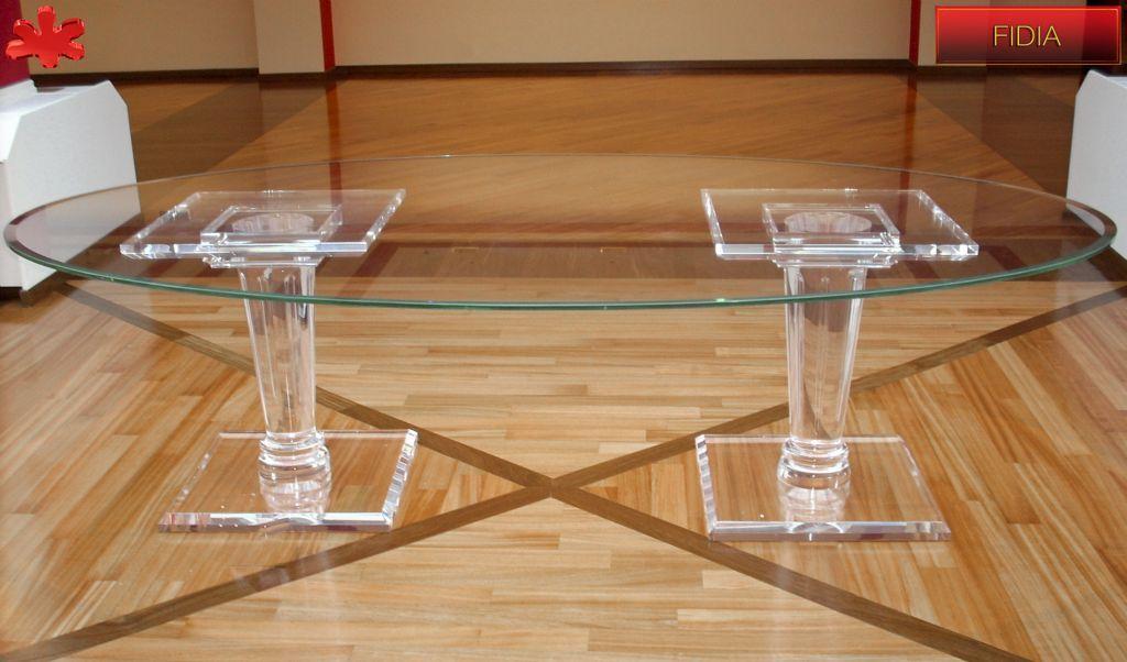 Botte Tavolo ~ Modello botte #tavolo #trasparente #acrylic #diningtable #plexiglass