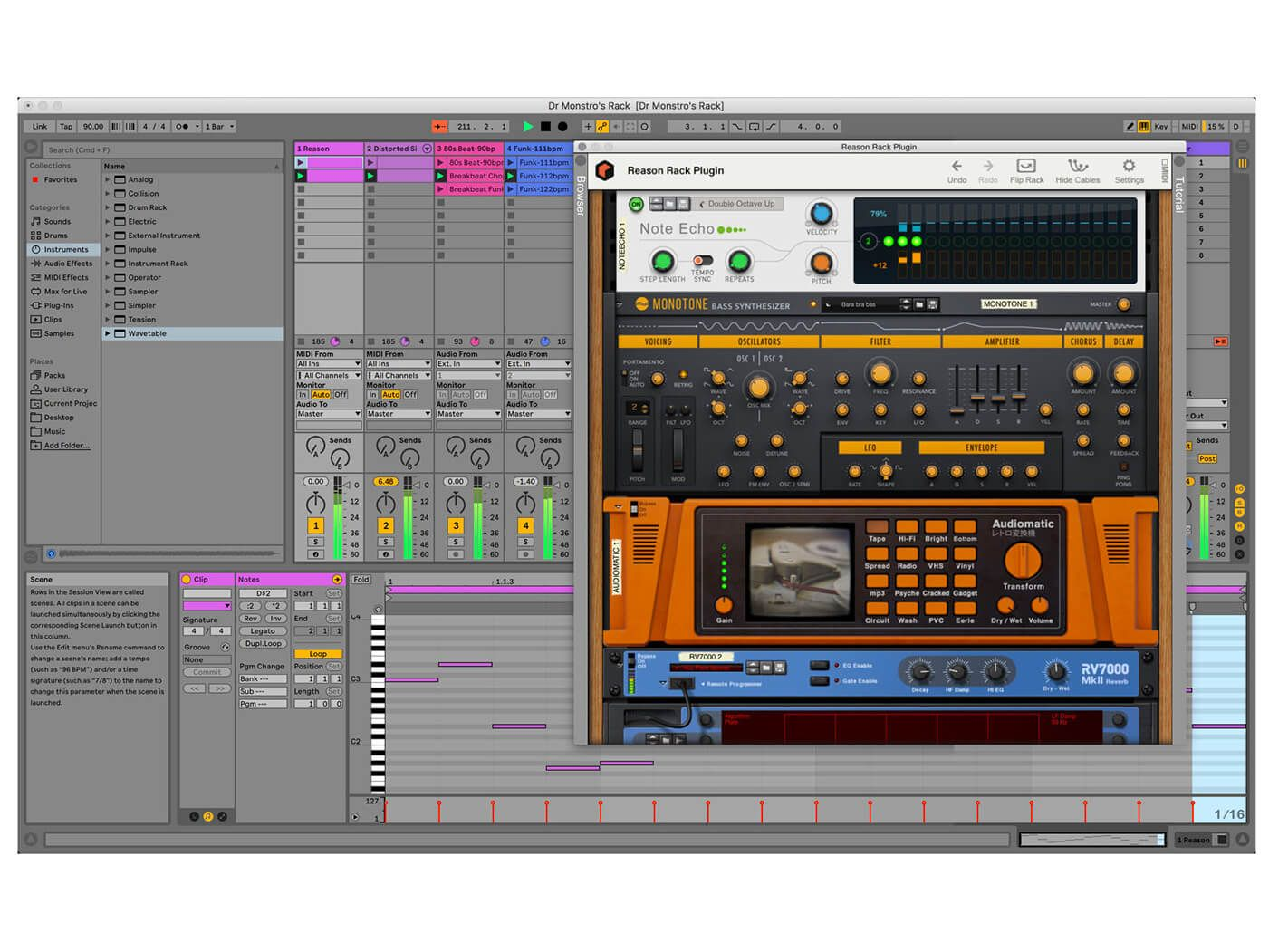 Reason 11 will arrive as a plugin Music making software