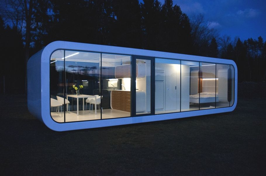 architecture mobile home Tribute to Peaceful Living: Elegant Coodo ...