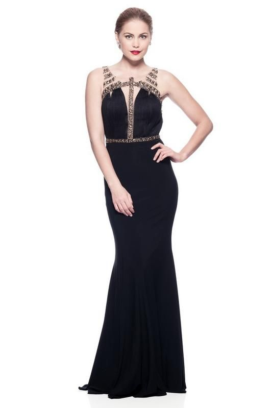 229e69b8093a Dress Websites · Sleeveless, Scoop Neck, Sheat 100% Polyester, Jersey,  Beading. Sexy Formal
