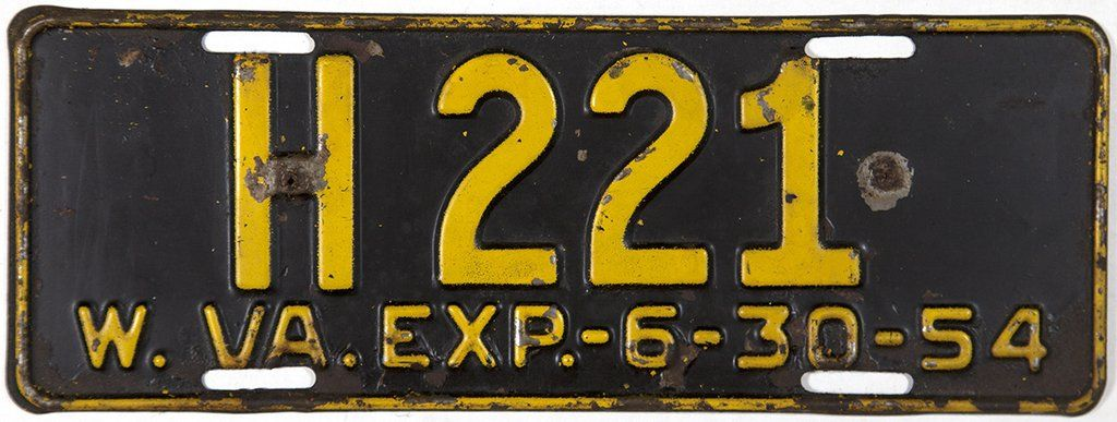 1954 West Virginia Bus License Plate #1954 #westvirginia #buslicenseplate # antique  sc 1 st  Pinterest & 1954 West Virginia Bus License Plate #1954 #westvirginia ...