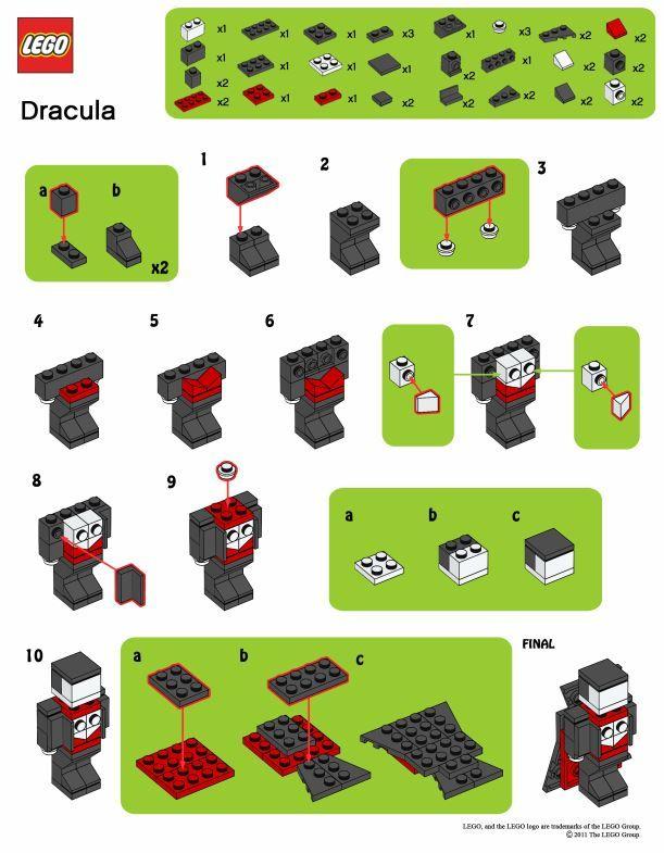 Legodraculabuildinstructionsg 611785 Pixels Lego Creations