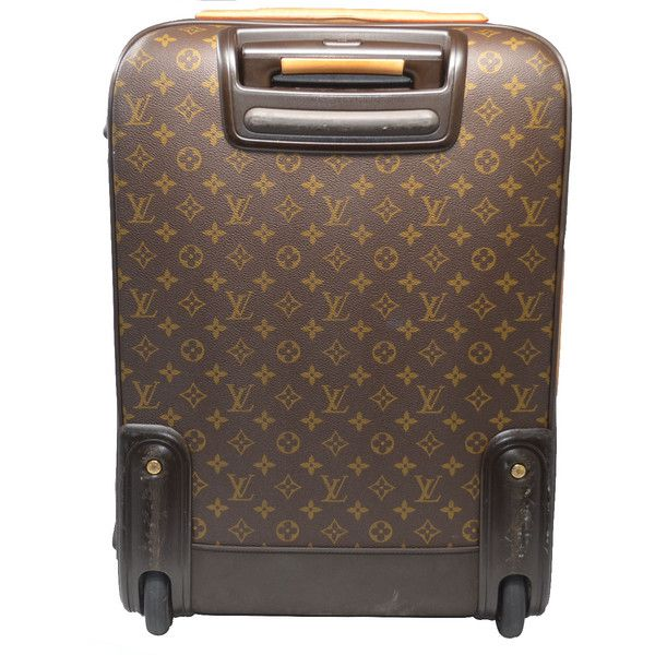 9f0ca4ccdb897 Pre-Owned Louis Vuitton Pegase 55 Business Monogram Canvas Rolling... (2