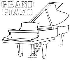 Dibujos De Piano De Cola Tatuajes De Piano Notas Musicales Para Colorear Notas Musicales Dibujos