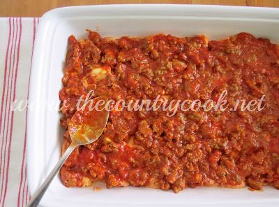 The Country Cook: Bubble Up Lasagna