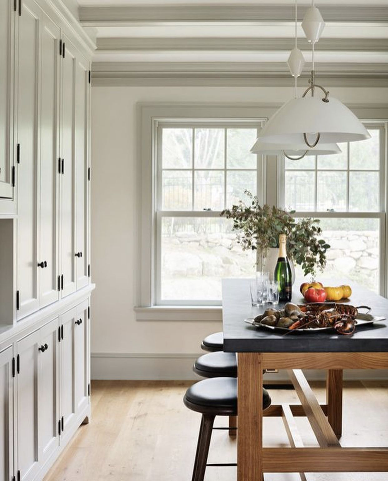 pin by erika howell on kitchens farmhouse interior dining room design farmhouse dining room on kitchen interior farmhouse id=72257