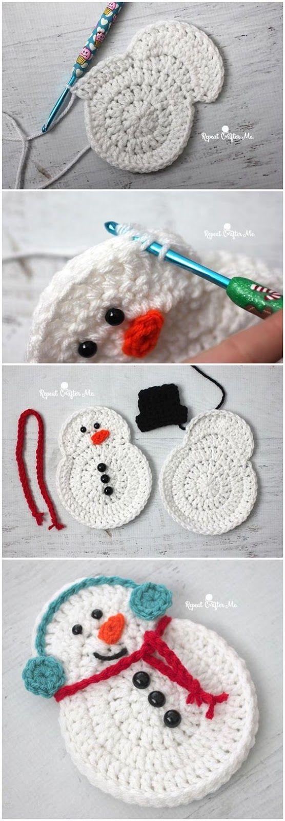Luty Artes Crochet   crafts   Pinterest   Häkelmuster, Weihnachten ...