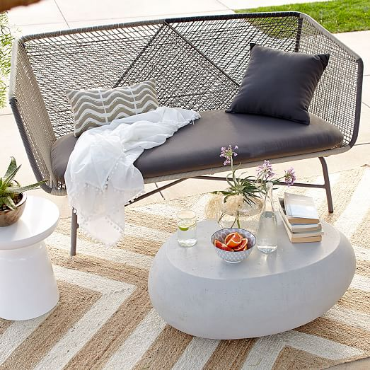 Pebble Outdoor Coffee Table Modern Outdoor Furniture Used