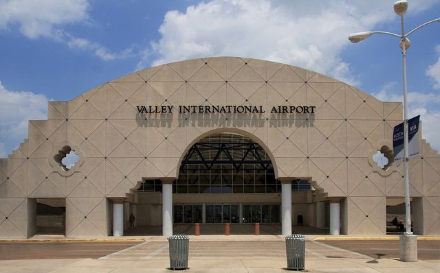 Rio Grande Valley Airport that I helped in drafting the plans for while working for SHWC Architects in Harlingen, Texas in the early '80's