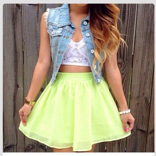 #chic #skirt