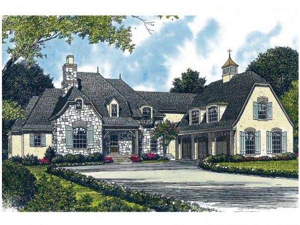 Country French Roof Styles French Country House Plan