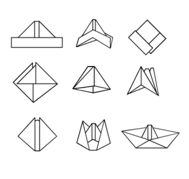 boat origami instructions things to wear pinterest