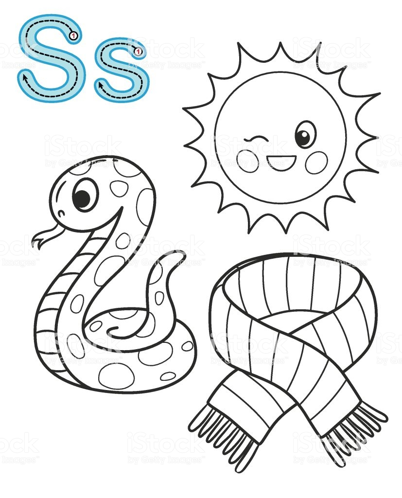 Printable Coloring Page For Kindergarten And Preschool Card For Barbie Coloring Pages Printable Coloring Pages Alphabet Coloring [ 1024 x 827 Pixel ]