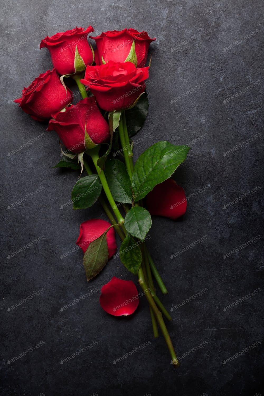 Red Rose Flowers Bouquet Photo By Karandaev On Envato Elements Rose Flower Wallpaper Love Rose Flower Rose Flower Pictures