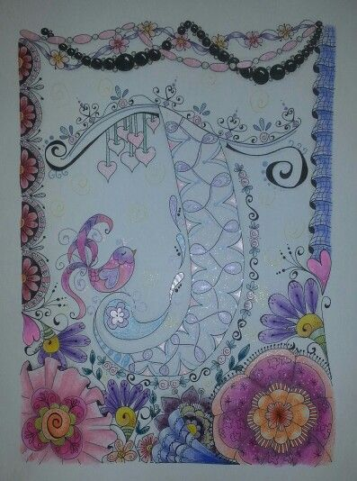 J for Julie tangle for my sister . Wendy H February 18 2015